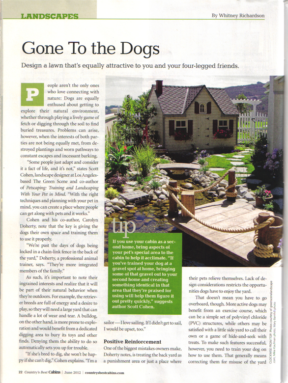Petscaping article page 1