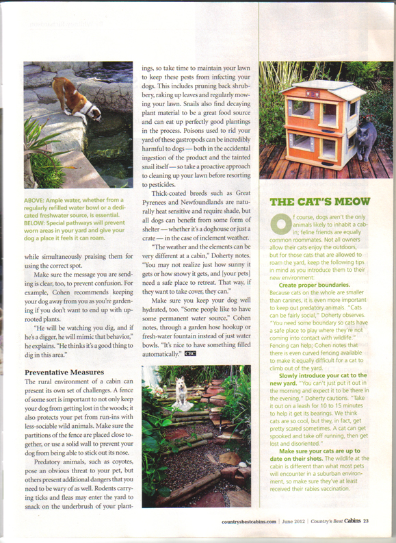 Petscaping article page 2